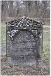 Stèle funéraire de Joseph Gûnzburger